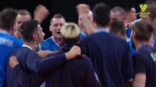 Slovenia vs. USA - FIVB Volleyball Nations League - Men - Match Highlights, 21/06/2021