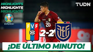 Highlights | Venezuela 2-2 Ecuador | Copa América 2021 | Grupo A-J3 | TUDN