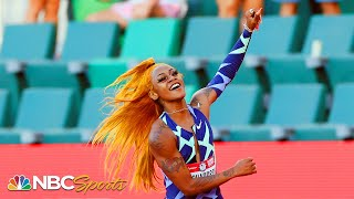 Sha'Carri Richardson, now America's fastest woman, scorches her Olympic Trials final | NBC Sports