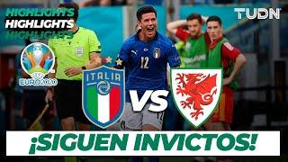 Highlights | Italia vs Gales | UEFA Euro 2020 | Grupo E-J3 | TUDN