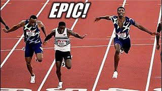 Trayvon Bromell Is UNBEATABLE! || The 2021 United States Olympic Trials - Men's 100 Meter Finals