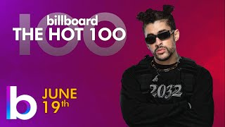 Billboard Hot 100 Top Singles This Week (June 19th, 2021)