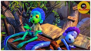"""Shapeshifting Sea-monsters !"" LUCA | Disney Pixar Animation 2021"