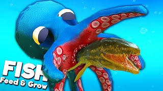 *NEW* GIANT OCTOPUS MONSTER! | Feed and Grow Fish