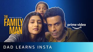 Srikant Learns How To Use Instagram From Atharv And Dhriti | Amazon Prime Video