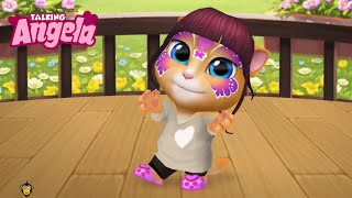 My Talking Angela - Gameplay Walkthrough Part 8 - Butterfly Beauty (iOS, Android)