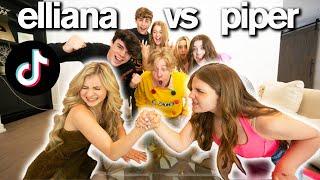 PIPER ROCKELLE vs ELLIANA WALMSLEY Viral TikTok Challenge
