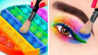 30 Weird Ways to Sneak Makeup into Class!