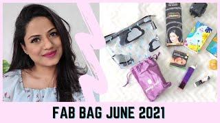 FAB BAG JUNE 2021 | RIA RAJENDRAN