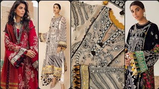 Summer Comfortable embroidered casual Wear Designer Dresses Collection