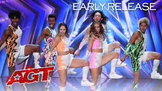 Early Release: Shuffolution Brings Their BEST Dance Moves to AGT! - America's Got Talent 2021
