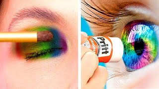 Ways to Sneak Makeup Into Class | Sneak Anything Anywhere! Sneak Snacks into School by Crafty Panda