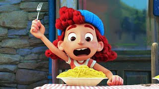 """LUCA Featurette - """"All About Food"""" (2021) Pixar"""