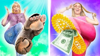 Rich Daughter vs Poor Daughter