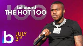 Billboard Hot 100 Top Singles This Week (July 3rd, 2021)