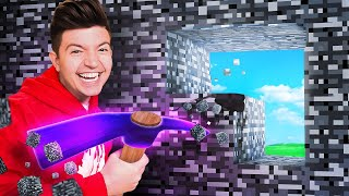 TRAPPED in 100 Layers of Diamond vs Bedrock! - Minecraft Challenge