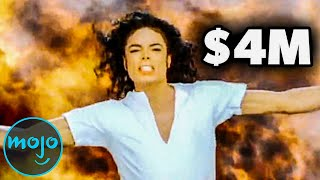 Top 20 Insanely Expensive Music Videos