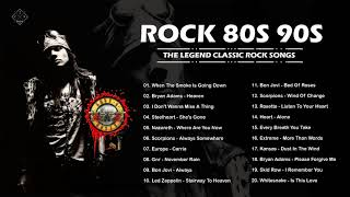 The Best Rock Songs of 80s 90s || Top 20 Slow Rock Ballads of all time