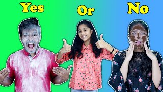 Yes Or No Challenge | Funny Video | Pari's Lifestyle