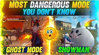 MOST DANGEROUS MODE YOU DON'T KNOW😲 TOP 5 MOST DANGEROUS MODE || GAREENA FREE FIRE