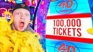 Win 100,000 Tickets, Get A LAMBORGHINI! Challenge