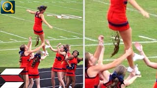 20 EMBARASSING MOMENTS WITH CHEERLEADERS IN SPORTS!