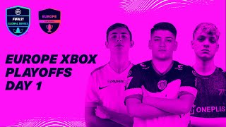 Europe XBOX Playoffs | Day 1 | FIFA 21 Global Series