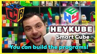 HEYKUBE First Look -  The Best Tool for Future Cubing Tech