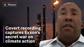 Revealed: ExxonMobil's lobbying war on climate change legislation
