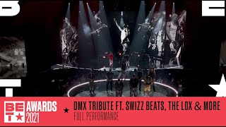 Swizz Beatz, The Lox, Method Man & More Honor DMX With A Medley Of His Hits | BET Awards 2021