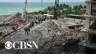Health concerns from smoke, dust and debris after Surfside building collapse