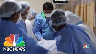 India Sets New Devastating Covid-19 Record | NBC News NOW