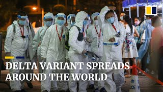 The global spread of the highly contagious Delta variant of Covid-19