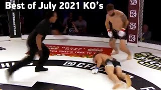 MMA's Best Knockouts of the July 2021 | Part 1, HD