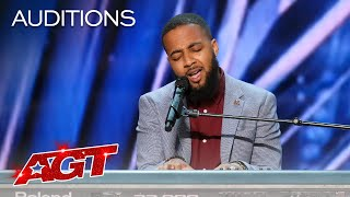 """Ray Singleton Sings an Emotional Rendition of """"I Am Yours"""" - America's Got Talent 2021"""