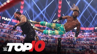 Top 10 Raw moments: WWE Top 10, July 5, 2021