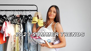 SUMMER 2021 FASHION TRENDS | try-on clothing haul