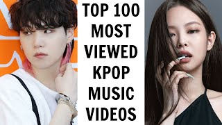 [TOP 100] MOST VIEWED KPOP MUSIC VIDEOS ON YOUTUBE | July 2021