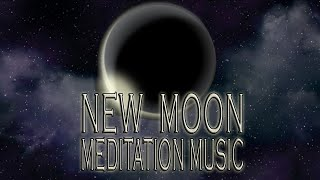 New Moon Meditation Music 2021 July Cancer Moon frequency for manifesting set new intentions cleanse