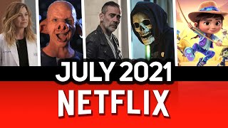 What's Coming To Netflix July 2021 | New on Netflix in July 2021 | DiziFlix
