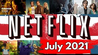 What's Coming to Netflix UK in July 2021