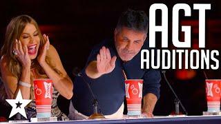 Simon's GOLDEN BUZZER WEEK! on America's Got Talent 2021   AUDITIONS   WEEK 2   Got Talent Global