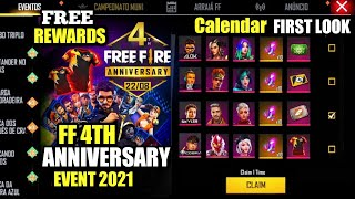 4TH ANNIVERSARY EVENT FREE FIRE 2021| ff new event, new ff event, ff new event today, ff next event