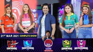Game Show Aisay Chalay Ga League Season 5   Danish Taimoor   21st March 2021   Complete Show