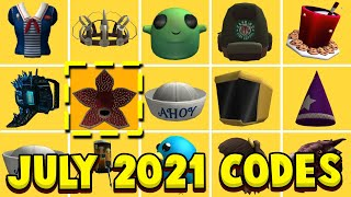 ALL NEW JULY 2021 ROBLOX PROMO CODES! New Promo Code Working Free Items EVENTS (Not Expired)
