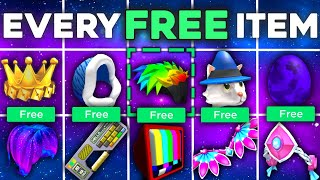 All Free Robux Items on Roblox 2021   All Event Items Roblox   How to Get Free Items on Roblox 2021