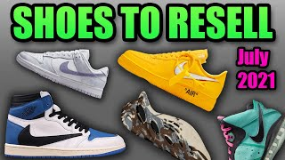 The Most HYPED Sneaker Releases In JULY 2021 | Sneakers To RESELL In July 2021