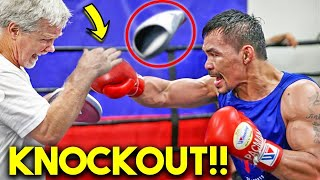 *NEW* PACQUIAO TRAINING with FREDDIE ROACH TO К. О  ERROL SPENCE IN 2021 MEGA BOXING FIGHT!