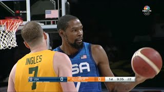 USA vs Australia Highlights 1st Qtr | July 12, 2021