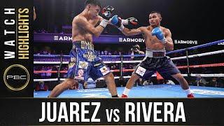 Juarez vs Rivera HIGHLIGHTS: June 27, 2021 - PBC on FOX